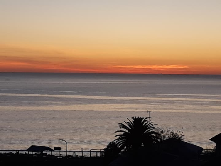 Sunset Over Hallett Cove Beach