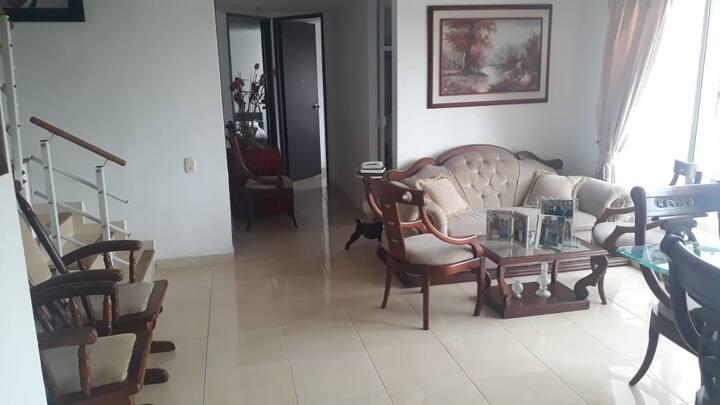 Penthouse con ambiente familiar en barranquilla