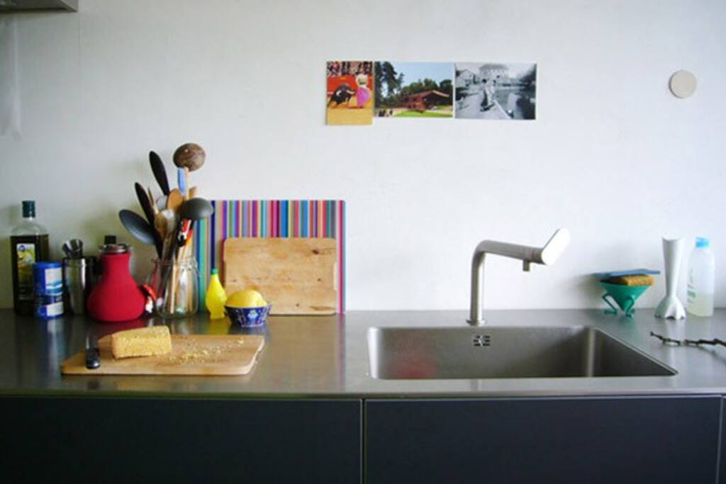Bulthaup kitchen with all utilities