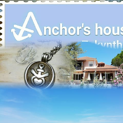 Anchors House Zakynthos (Alykes Villa near sea)