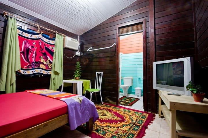 ECO-Hospedaria do Boldró - La Perla - Dormitório