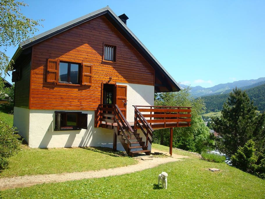 beau chalet proche du golf et des pistes de ski chalets for rent in corren 231 on en vercors