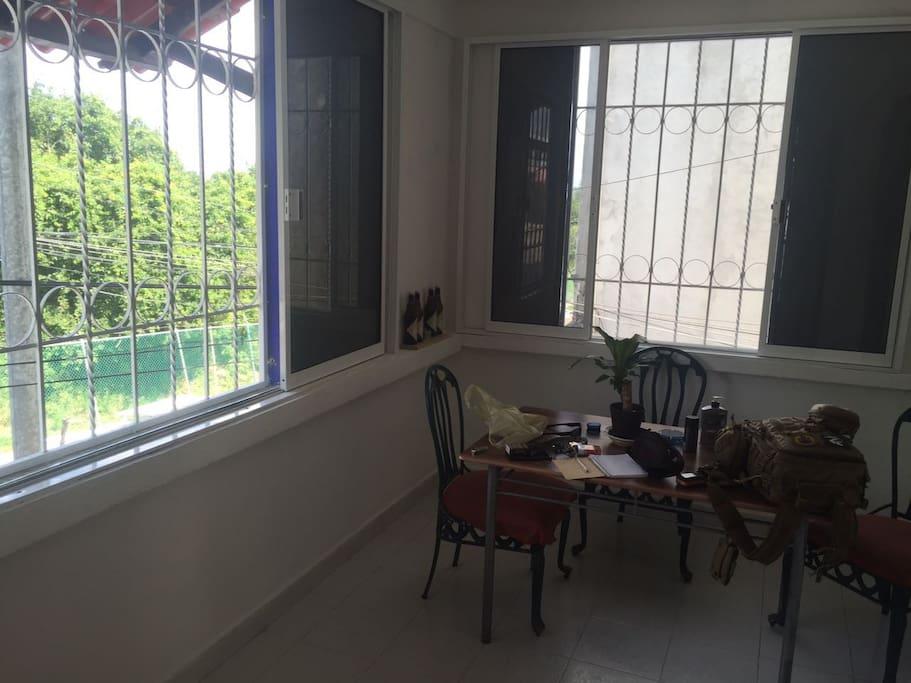 Sala de estar/ comedor