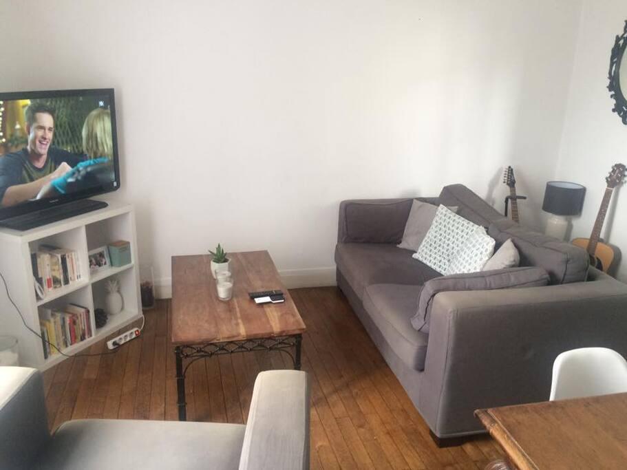 charmant appartement t2 appartements louer nantes pays de la loire france. Black Bedroom Furniture Sets. Home Design Ideas