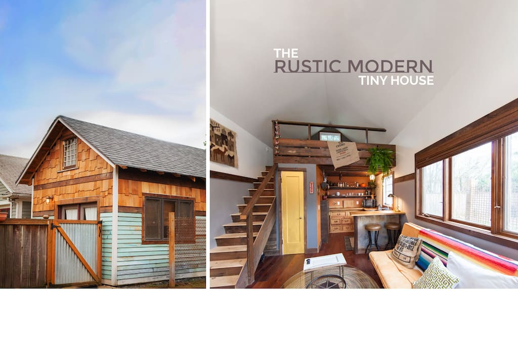 Tiny Home Designs: The Rustic Modern Tiny House