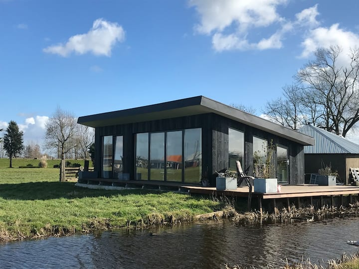 Tiny House midden in de polder Amsterdam/Utrecht