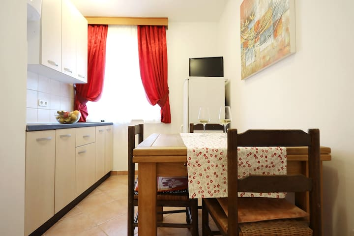 Apartmant for 2 people (free parking and wifi)