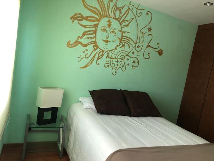 Disfruta de una habitación cómoda y confortable