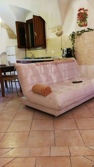 Living area/sofabed