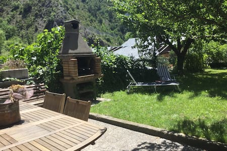 Loft acogedora casa entorno natural - Aixovall