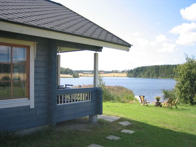Fully equipped holiday home by a lake, Jämsä - Jämsä - Villa