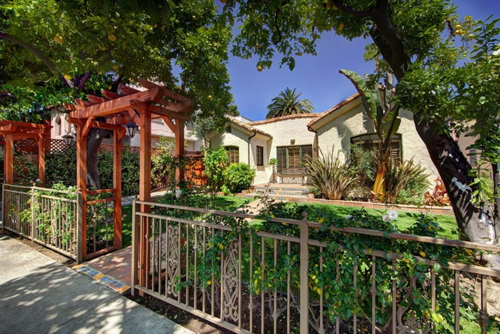 Home is a few steps away from the heart of West Hollywood.