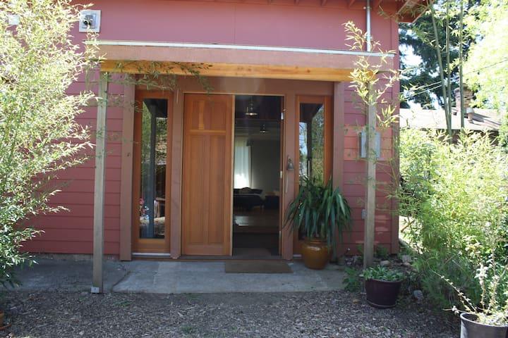 Private large studio apartment.