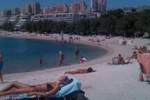 Beach Znjan - 5min away, Free open parking space, bars, restaurants