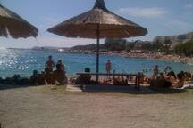 Beautiful beach Znjan