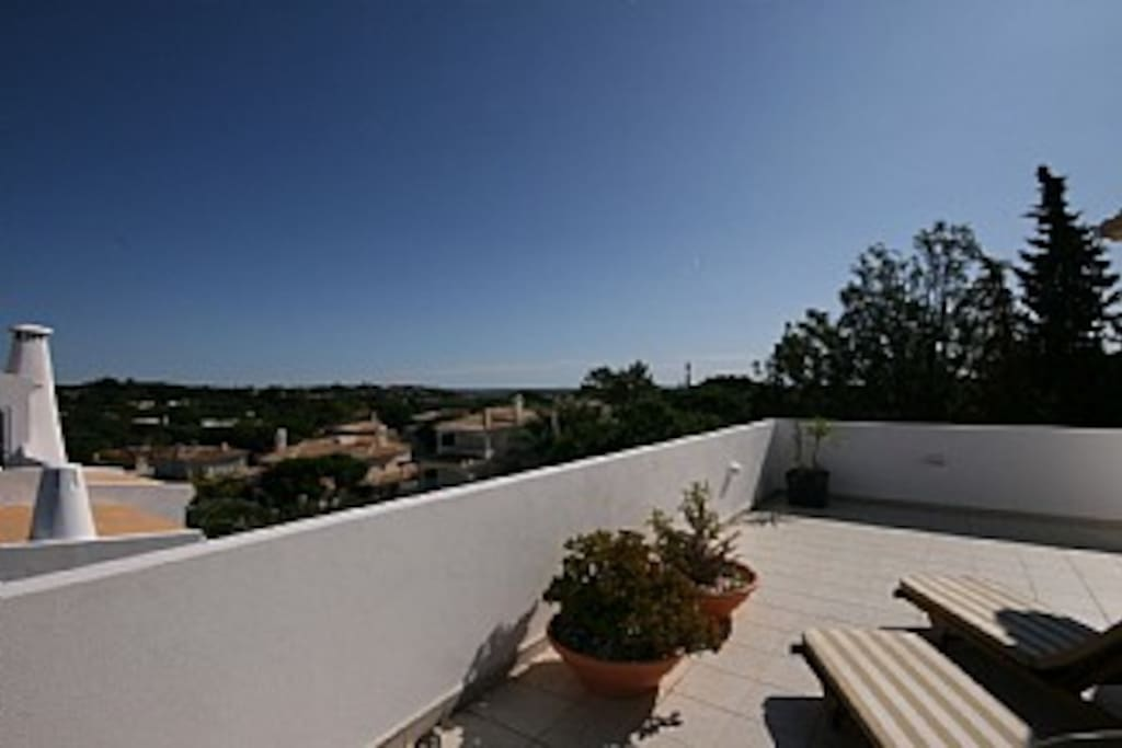 Stunning view from one side of the wrap around Balcony (amazing algarve apartment)