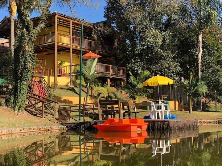 Uma experiência incrível num Resort privativo!