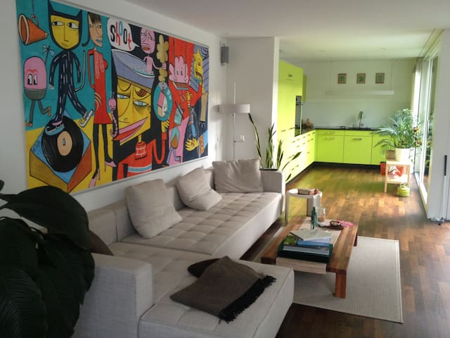 quiet room in central Lucerne - Lucerna - Apartament