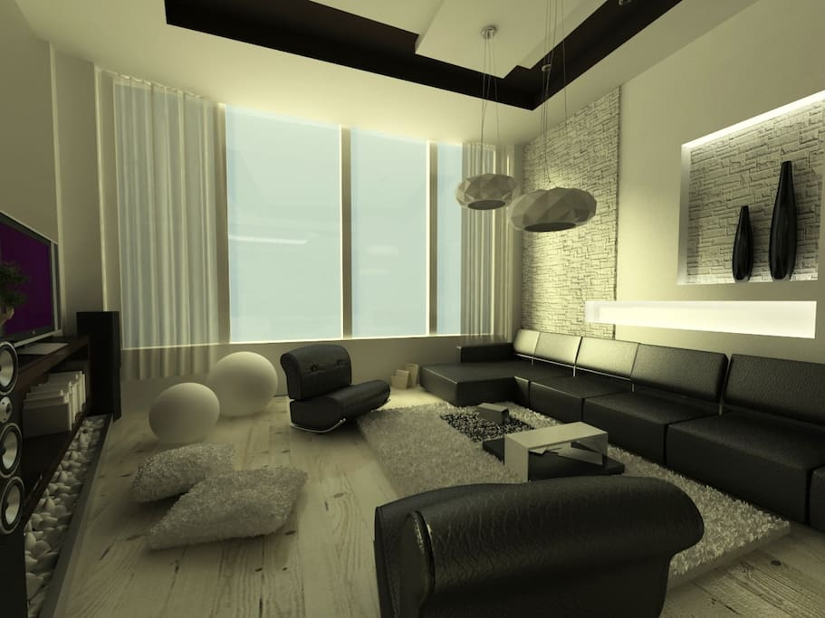 Living space with great view