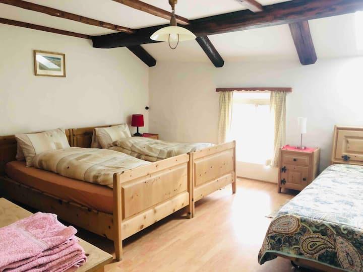 Zimmer für bis zu 3 Personen