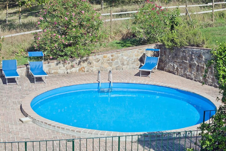 Apartment farmhouse with pool for 8 - Bevagna - Apartment