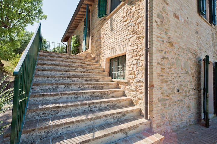 Holiday in farmhouse, Umbria 7 beds - Bevagna - Apartment