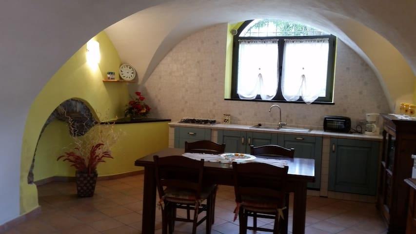 AGRITURISMO IL POGGIO: appartamento GIALLO - Vasia - Apartamento
