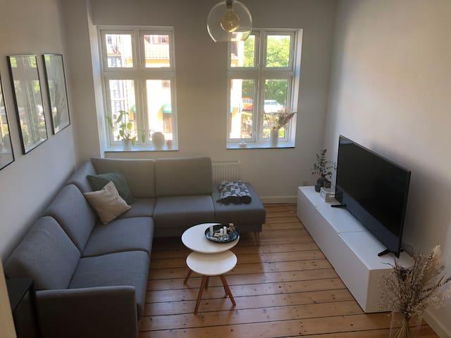 2 værelses hyggelig lejlighed tæt på banegården
