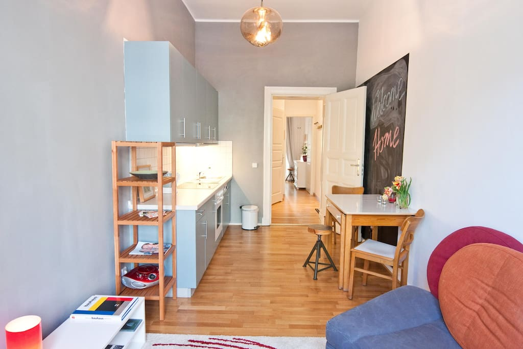 Cute n cosy happystylish centre apartamentos en for Apartamentos en berlin