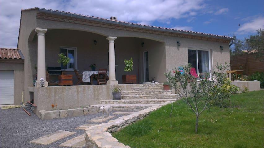 Villa de vacances Pont-du-Gard - Saint-Hilaire-d'Ozilhan - Villa