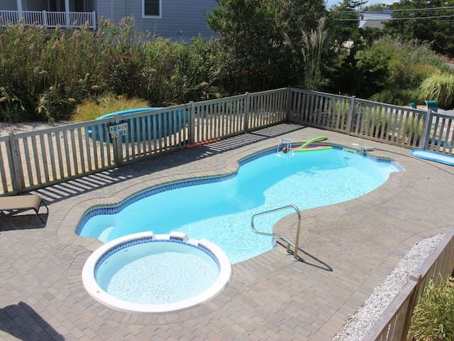 Loveladies LBI Oceanside Heated Pool Private Lane