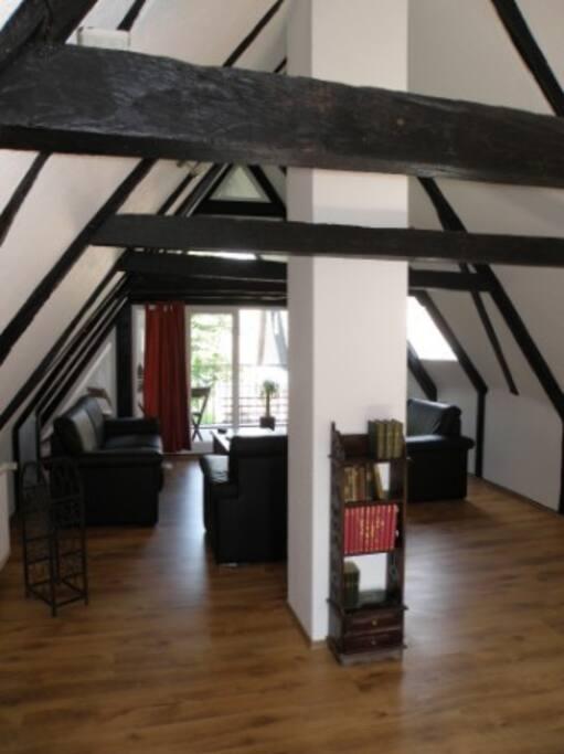 wohnen im fachwerkhaus aus 1798 houses for rent in lemgo. Black Bedroom Furniture Sets. Home Design Ideas