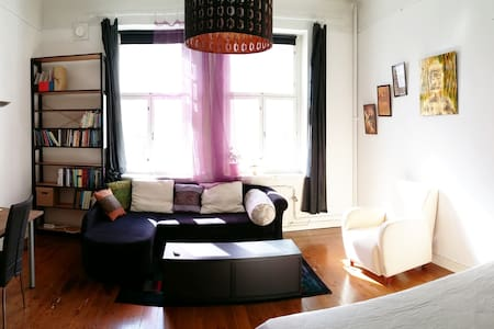 Cozy bright home at trendy Viiskulma Helsinki - Helsinki