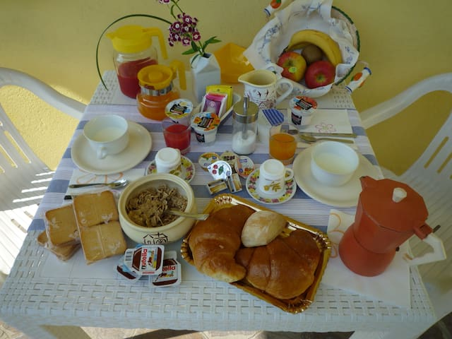 room & breakfast dimora di Bosco - Rubano  - Oda + Kahvaltı