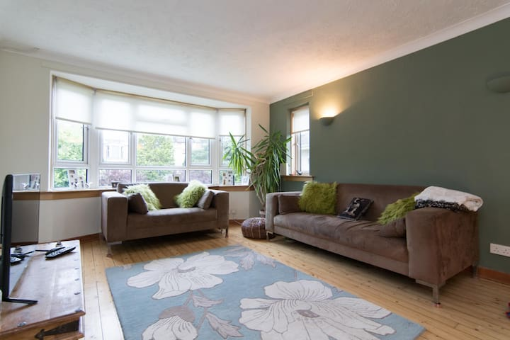 Bright Sunny Room in Southside Flat - Glasgow - Departamento