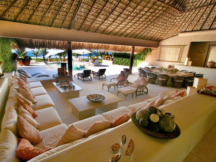 Private Beachfront Full Service Luxury Villa