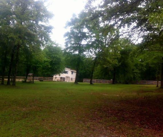 Aiken house on a farm day, wk, mnth.Solar Eclipse! - Aiken - Maison