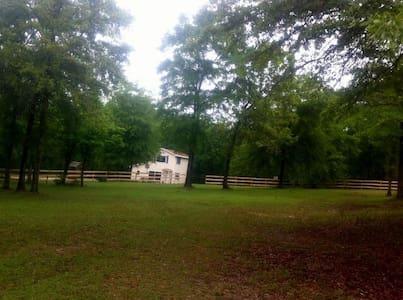 Aiken house on a farm Now available day, wk, month - Aiken - House