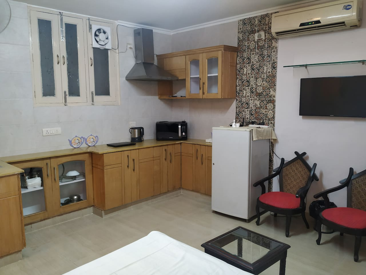 Fully Furnished and Equipped Studio Apartment