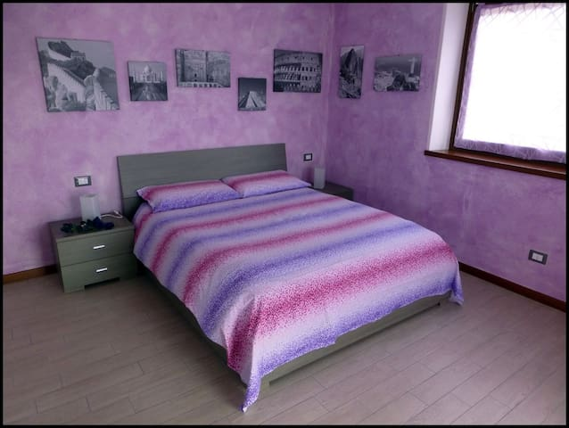 Bright Apartment with Lilac Bedroom - Belluno - Apartamento
