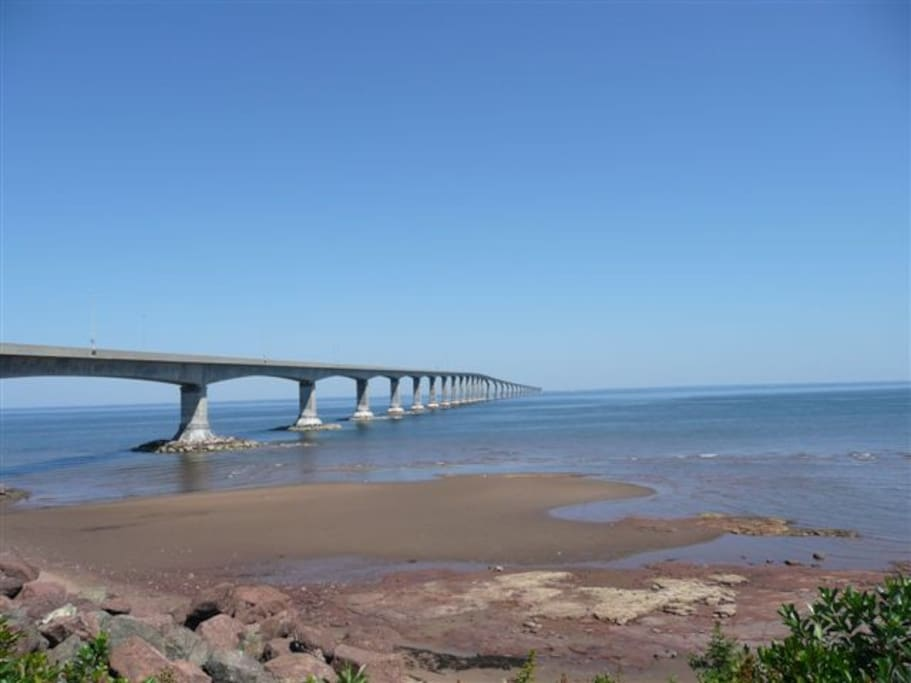 Minutes to the PEI Bridge