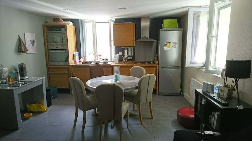 Appartement cosy 5min centre ville