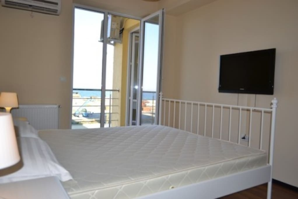 Splendid view at Black Sea from the bedroom.