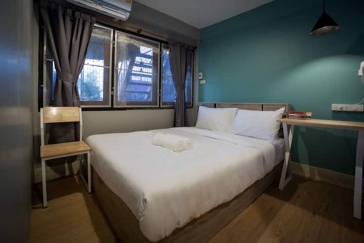 Mind day Hostel Khaosan Double Bed Private Room 2