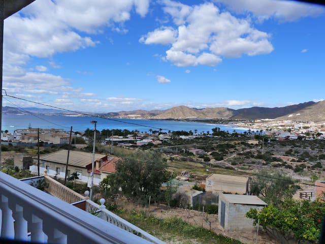 Vue exceptionnelle sur la baie de La Azohia - Cartagena - House