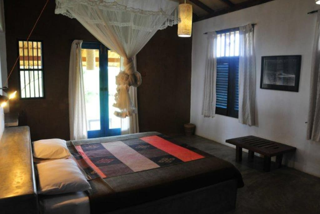 bedroom of bungalow