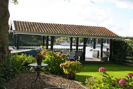 Bungalow with loveley riverview - Oostknollendam - Zomerhuis/Cottage