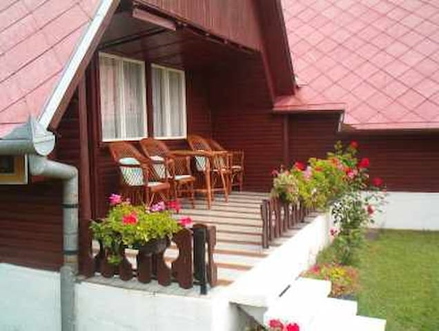 A - 2 acc . Casas de madera mi Terr - Balatonkeresztúr - Casa