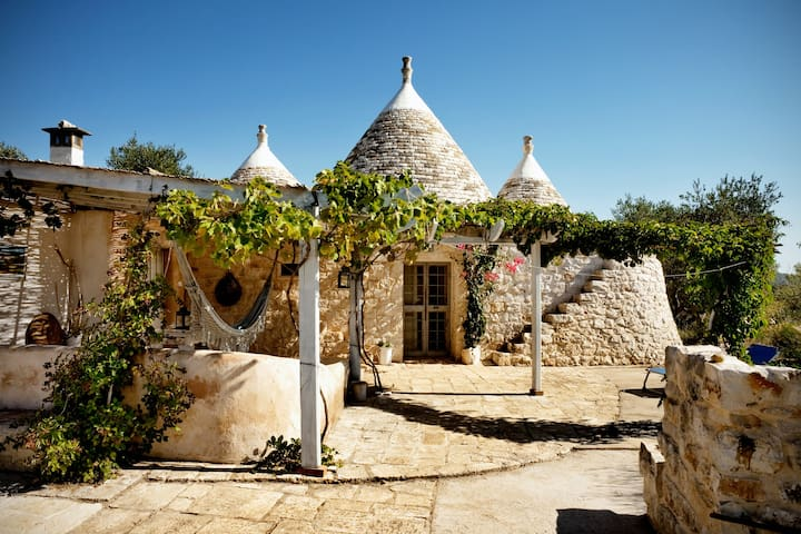 Trullo aromatic green - Ostuni - Vila