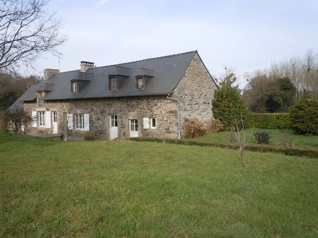 Nice family home with garden - Pléboulle